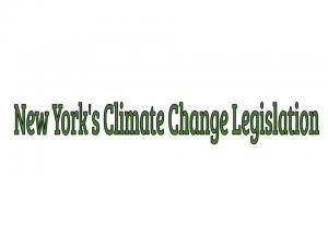 Solutions to Meet New York's Climate Change Legislation